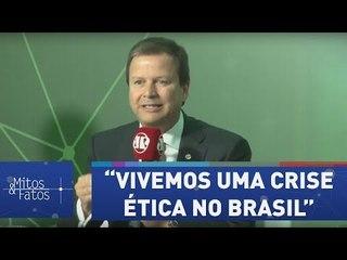 """""""Mais do que econômica, vivemos uma crise ética no Brasil"""", diz presidente da OAB"""