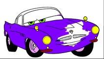 Livre des voitures coloration Finlandais mains petit Disney page 2 mcmissile  