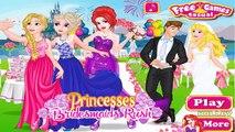 Et demoiselles dhonneur Robe pour Jeu filles les princesses se ruer vers le haut en haut elsa Rapunzel ariel