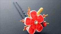 Epingle à cheveux ornementale japonaise - Kanzashi 【petit】-Prune japonaise, hiver
