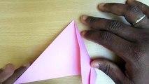 Un et un à un un à oiseau facile Comment faire faire papier à Il Origami