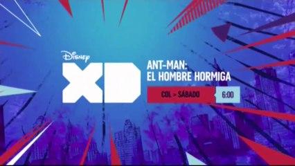 "PROMO ""ANT-MAN: EL HOMBRE HORMIGA"" (PODER MARVEL - 2-9-2017) EN DISNEY XD"