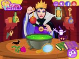 Snow White and the Evil Queens Spell Disaster - Disney Princess Makeup and Dress Up Games