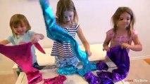 Bébé par par cinq enfants petit sirènes Langue source chansons |