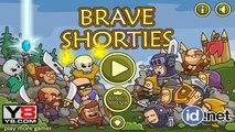 Niños para juegos de estrategia del valiente hombre valiente batalla juego de dibujos animados parte 1