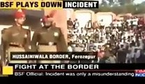 Breaking News: Fight At Wagah Border Between Pakistani Solider and Indian Army Solider