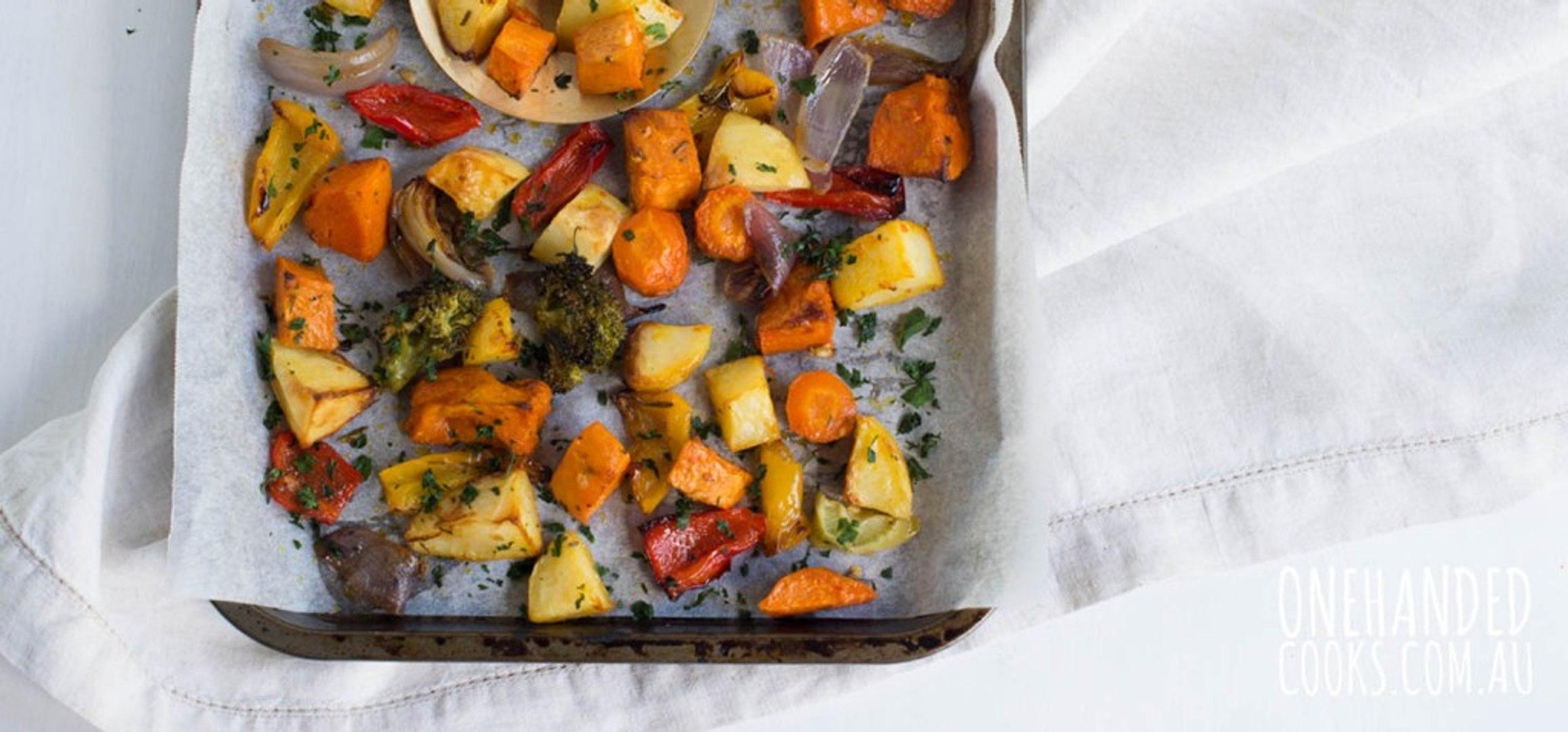 45+ легких способов запечь овощи в духовке