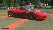 Ferrari 458 Speciale Camera on the Steering Wheel Stretch Yedapalli Full HD