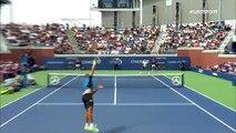 ABD Açık: Jo-Wilfried Tsonga - Marius Copil (Özet)