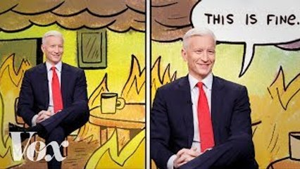 The this is fine bias in cable news