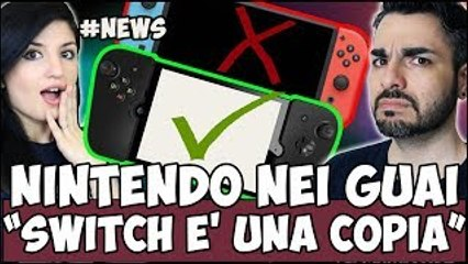 NINTENDO DENUNCIATA PER AVER COPIATO! PS4 CALERÀ PRESTO DI PREZZO? #NEWS
