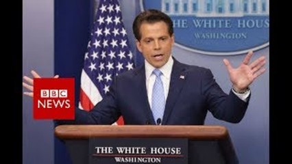 Anthony Scaramucci out as Trump media chief BBC News