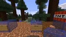 Allons les blocs mystérieux de minecraft bloc invisible tnt modifiée et gameplay | pla