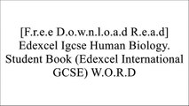[pBb5L.[F.R.E.E D.O.W.N.L.O.A.D]] Edexcel Igcse Human Biology. Student Book (Edexcel International GCSE) by Phil Bradfield [R.A.R]