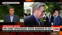 Steve Bannon FIRED by Trump as White House Chief Strategist