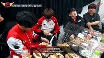 EP11. Endless Eating Show by SKT T1 / 2017.03.18 LCK SPRING 2R │SKT T1 vs BBQ [T1 Camera]