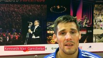 """Kenneth Van Gansbeke: """"J'étais dans un bon jour, mais je commets une petite erreur"""""""