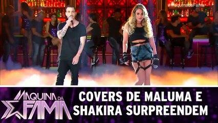 Covers de Maluma e Shakira surpreendem