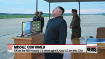 N. Korea confirms missile was intermediate ballistic missile Hwasong-12