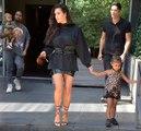 Kim K details motherhood and raising biracial children