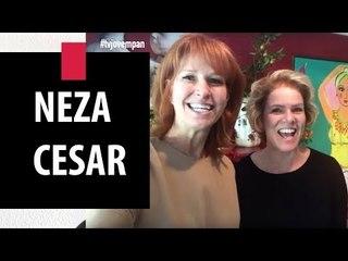 Zize Zink e Graça Salles visitam a designer Neza Cesar | Decor JP