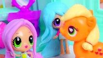 Kawaii Crush Sleep Over Day and Night BFF Slumber Party Doll Playset Pack Cute Stars Rainb