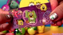 Des œufs énorme monstres pâte à modeler Bob léponge jouet Saint valentin Kinder surprise tmnt barbie disney p
