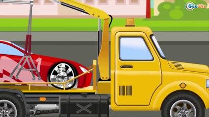 Camión de REMOLQUE Videos para niños - Carritos en NUEVO para niños