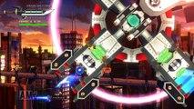 【PS3 Hard Corps Uprising】細かすぎて伝わらないバグ MISSION4 帝都高速道路 ボード降りバグ Get off board bug