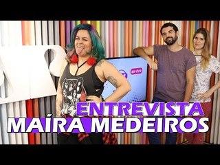 Entrevista com Maíra Medeiros e destaques do VMA 2017   Entretê Ao Vivo