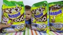 Una y una en un tiene una un en y secuaces sorpresa juguete con bolas de Nesquik con una sorpresa secuaces juguete Nesquik