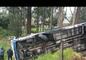 18 heridos por accidente de bus en Tambillo, provincia de Pichincha