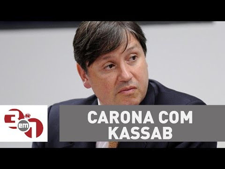 Em jatinho da FAB, Rocha Loures pegou carona com Kassab para São Paulo