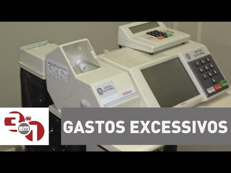 Novas urnas com impressão de voto devem gerar gastos excessivos