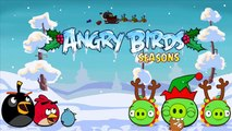 Angry Birds Seasons Christmas Coloring Pages - Angry Birds Xmas Noel Coloring Book