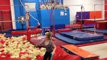 Gymnastique monter montage
