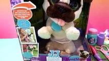 Et aboiement escroquerie avec chien amis sauteur J.-J. pupy FURREAL jouets / sa citrouille médicale pour les chiens