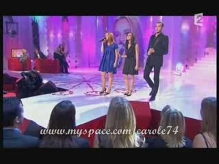 La troupe du roi soleil sur France 2 - Francis et Eliane