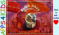 Niños vehículos Niños construcción vehículos aplicación para Niños niveladora cavador grúa descarga camión