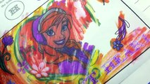 Arte libro congelado imagina tinta bolígrafo imágenes arco iris sorpresa (v) con Disney color cookieswirlc