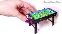 Bureau bricolage maison de poupées Jeu intérieur mini- Football Football dessus de la table Foosball |