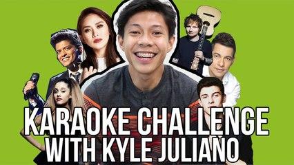 Kyle Juliano - KARAOKE CHALLENGE