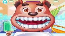 Androide dibujos animados médico para jugabilidad Juegos Feliz Niños dientes vídeo Animalios