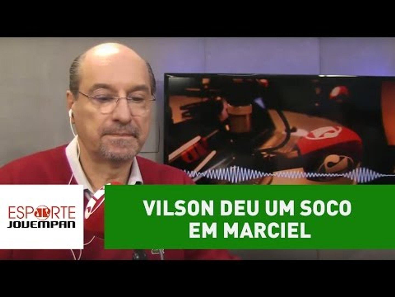 Por que Vilson deu um soco em Marciel no treino do Corinthians