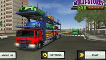 Androïde par par voiture Jeu transporteur un camion Multi titan productions gameplay hd