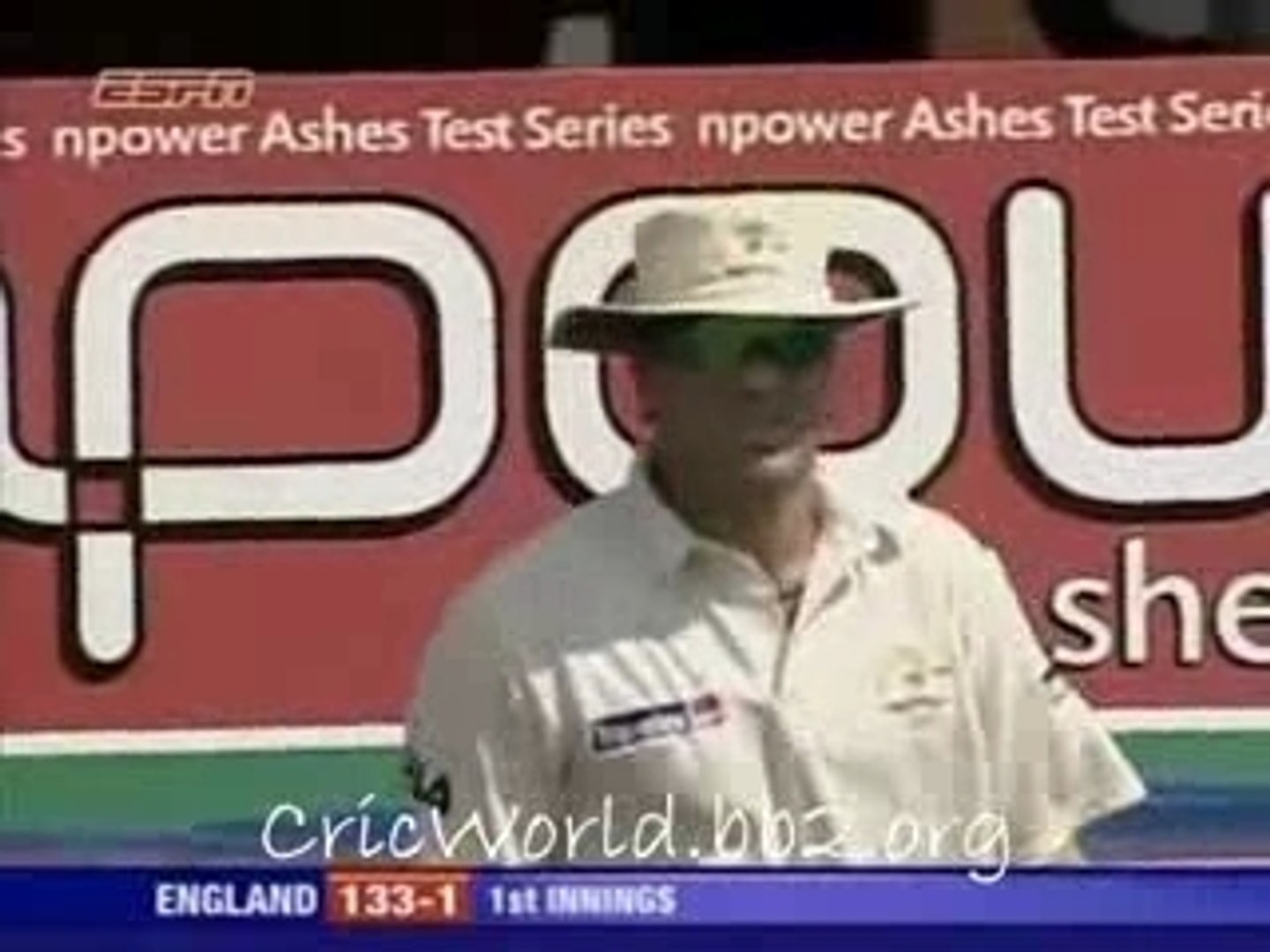 Ashes 2005 Hero - Michael Vaughan's 166 2nd Test Ashes 2005