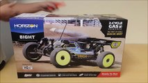 Losi 1/8 4WD 8IGHT-T RTR Gasoline/Petrol Truggy Unboxing