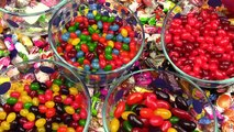 CANDY MACHINES + M&Ms Slot Game Candy Dispensers Jelly Belly Bean Gumball Toy & Starbursts