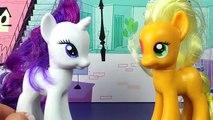 My Little Pony Videos Charm School Part 2 Pinkie Pie, Rarity, Applejack, Rainbow Dash MLP