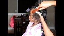 Sec pour toujours Télécharger cheveux Comment nœud naturel sur hors hors parfait résultats à Il Bantou |
